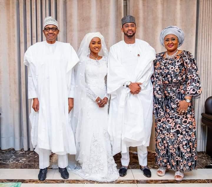 Nigerian president Buhari's daughter Hanan weds in colourful ceremony.