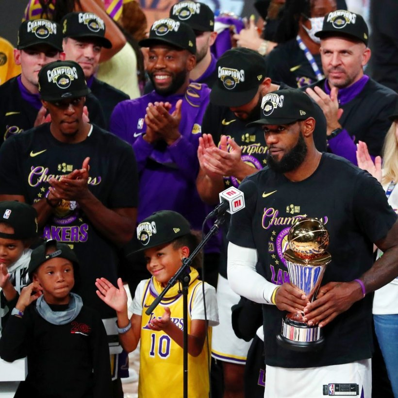 LeBron James and Los Angeles Lakers Win 2020 NBA Finals ...