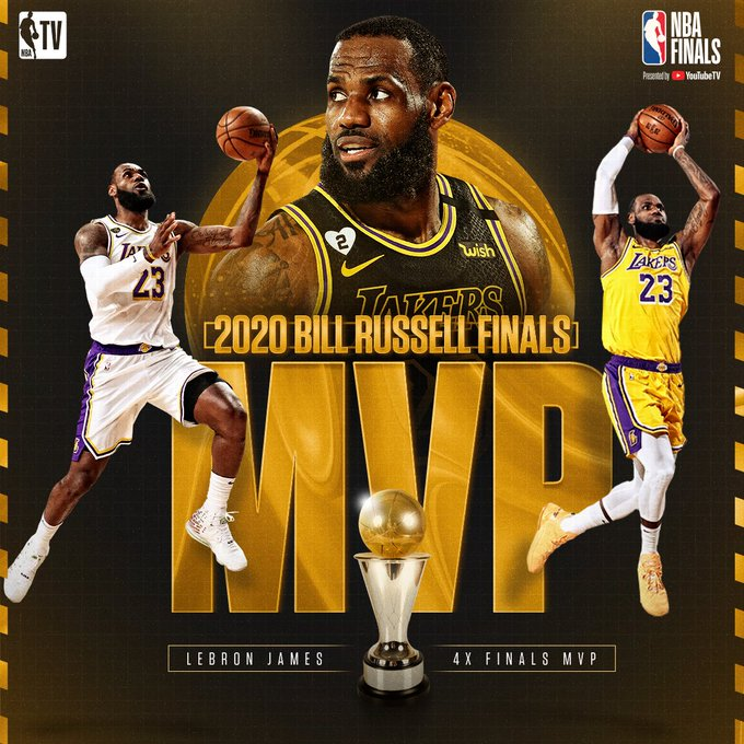 LeBron James and Los Angeles Lakers Win 2020 NBA Finals