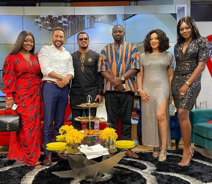 United Showbiz' Ghana hosted by actress Nana Ama McBrown