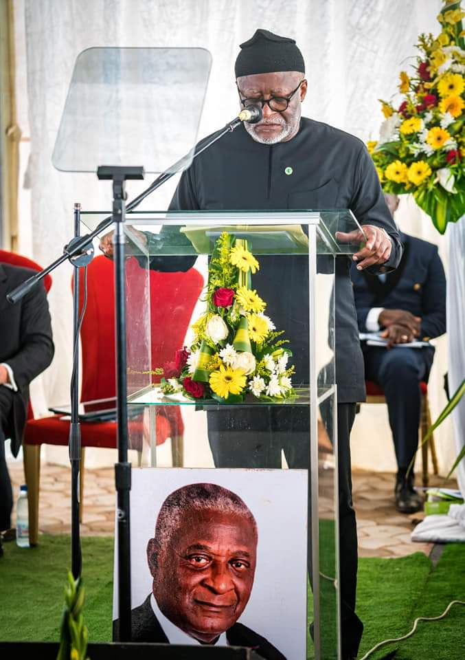 Akere Muna's message on the memorial service of his late brother Batonnier Ben Muna.