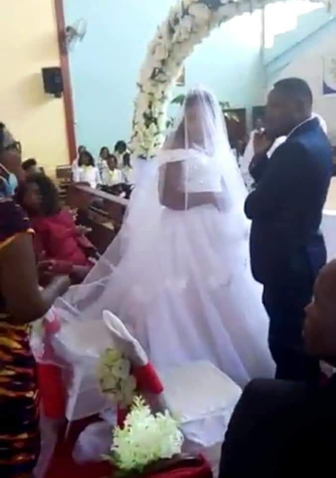 Caught at the altar marrying another woman