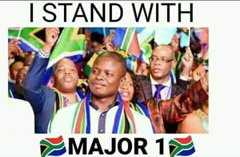 NOW TRENDING I STAND WITH MAJOR 1