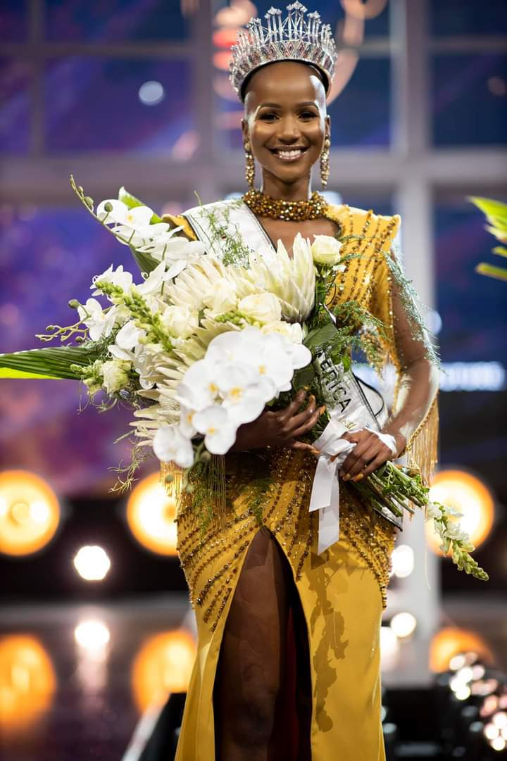 Shudufhadzo Musida has been crowned Miss South Africa 2020