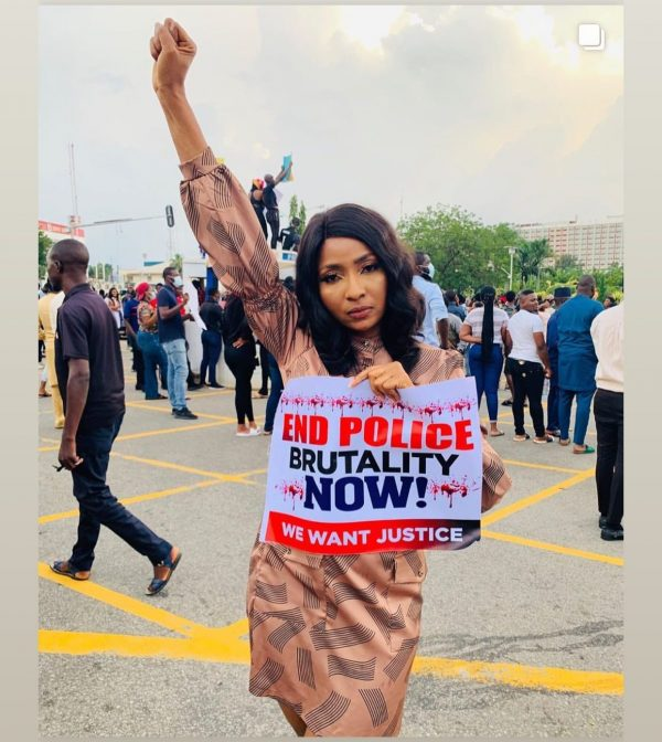 NOLLYWOOD ACTORS ARE ALSO PROTESTING