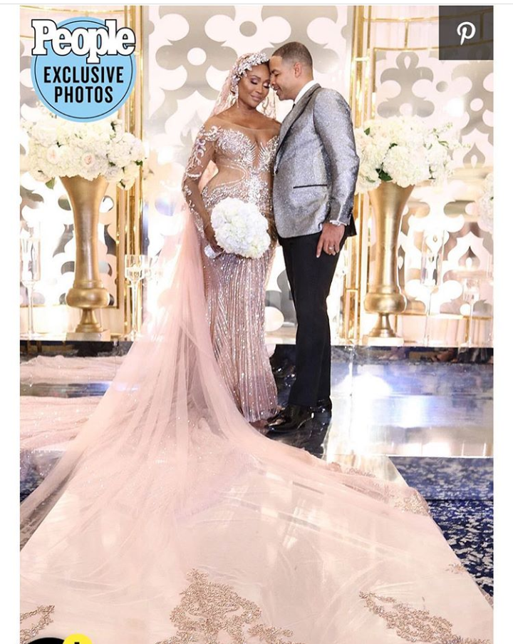 The Real Housewives of Atlanta star Cynthia Bailey 53 marries Mike Hill 49