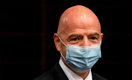 FIFA president Infantino tests positive for COVID-19.