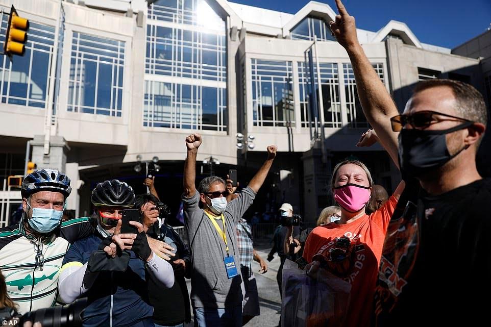 Celebrations break out across American cities
