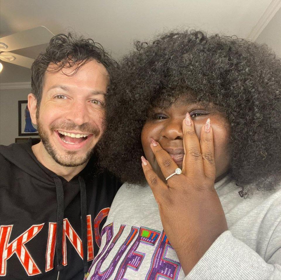 Actress Gabourey Sidibe Engaged to Boyfriend Brandon Frankel