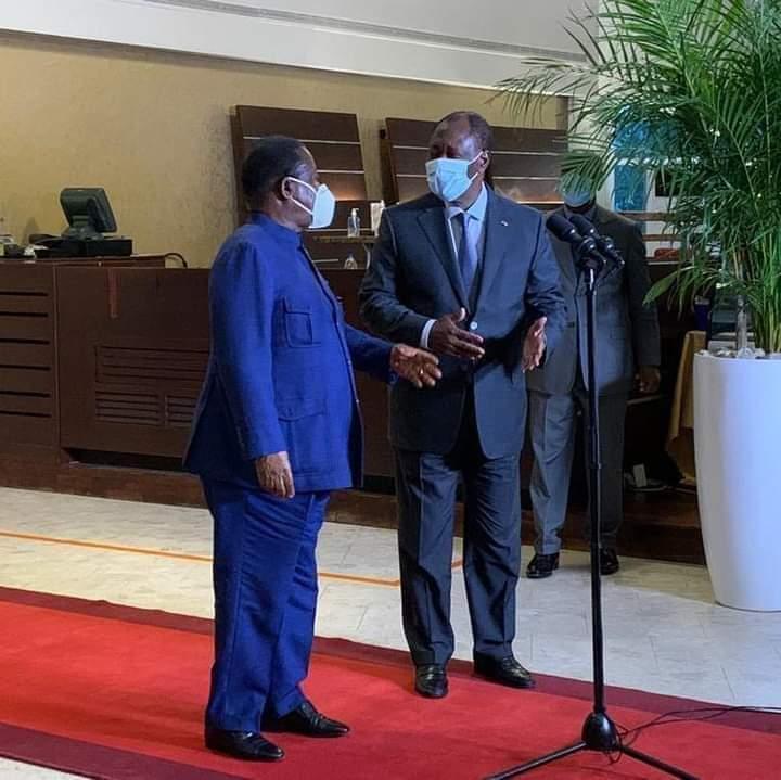 Ivory Coast president Alassane Quatarra and opposition leader Henri Konan Bedie to meet and talk amid deadly standoff