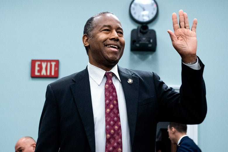 Ben Carson tested positive for COVID-19