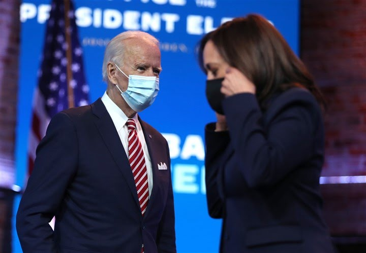 Biden, Harris to receive national security briefing, but not from gov't officials