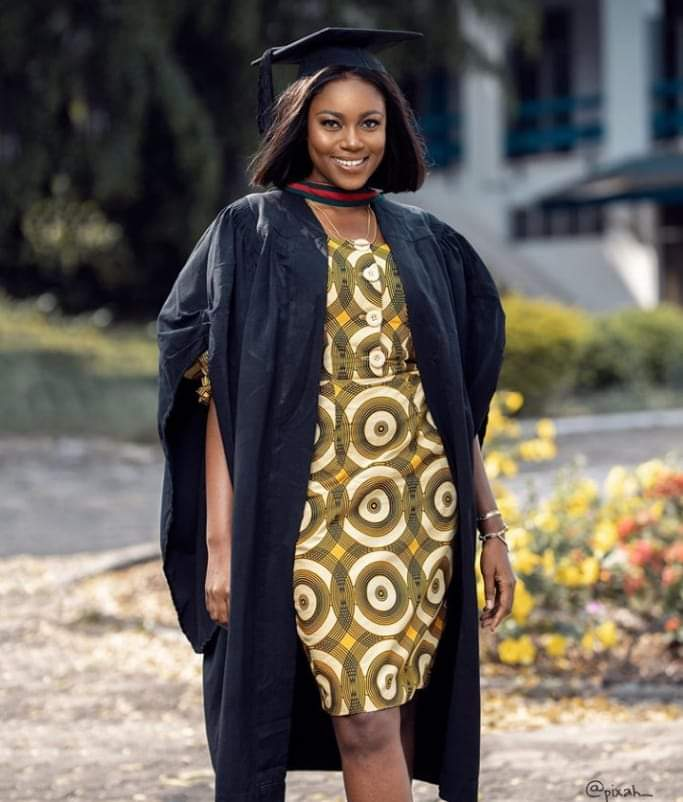 Ghanaian actress, Yvonne Nelson just bagged a masters degree in International Relations and Diplomacy