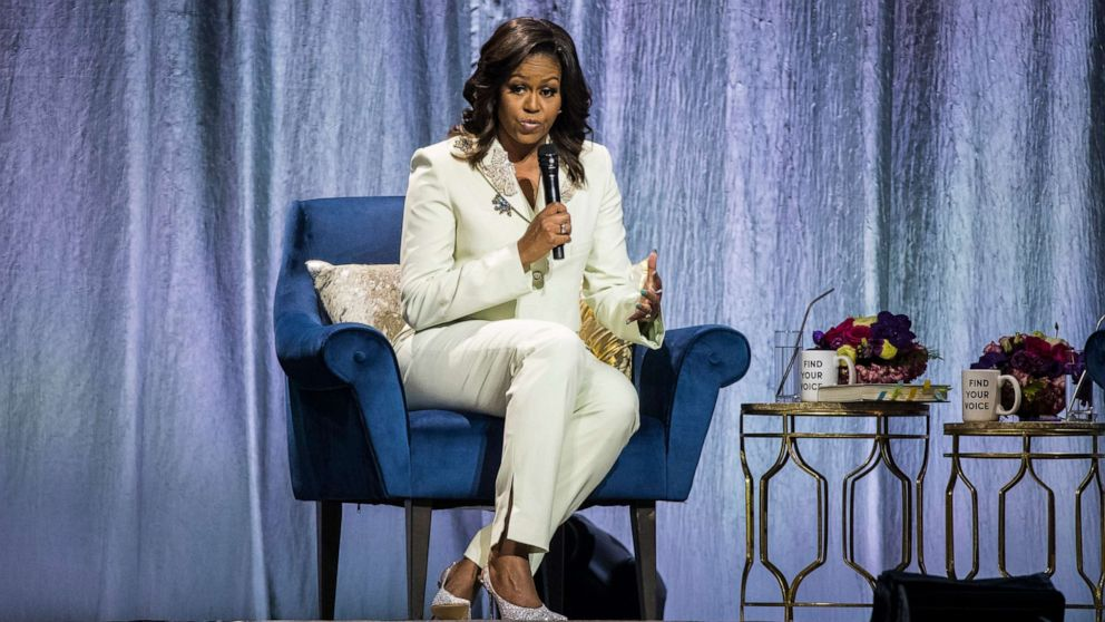 Michelle Obama Urges U.S. Leaders To 'Encourage A Smooth Transition Of Power'