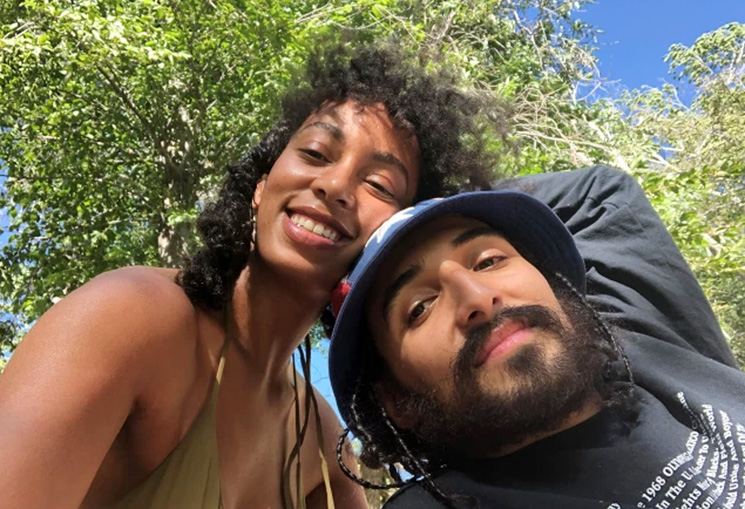 Solange Knowles, Beyonce's little sister is off the market.