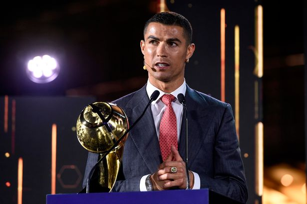 Cristiano wins Best Player of the Century at Globe Soccer Awards