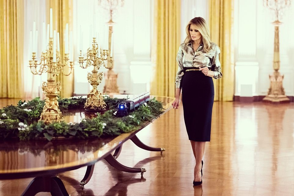 White House Christmas decorations, theme for 2020