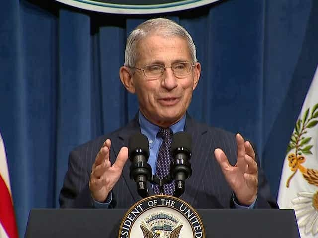 Anthony Fauci to meet with Joe Biden's transition team Thursday