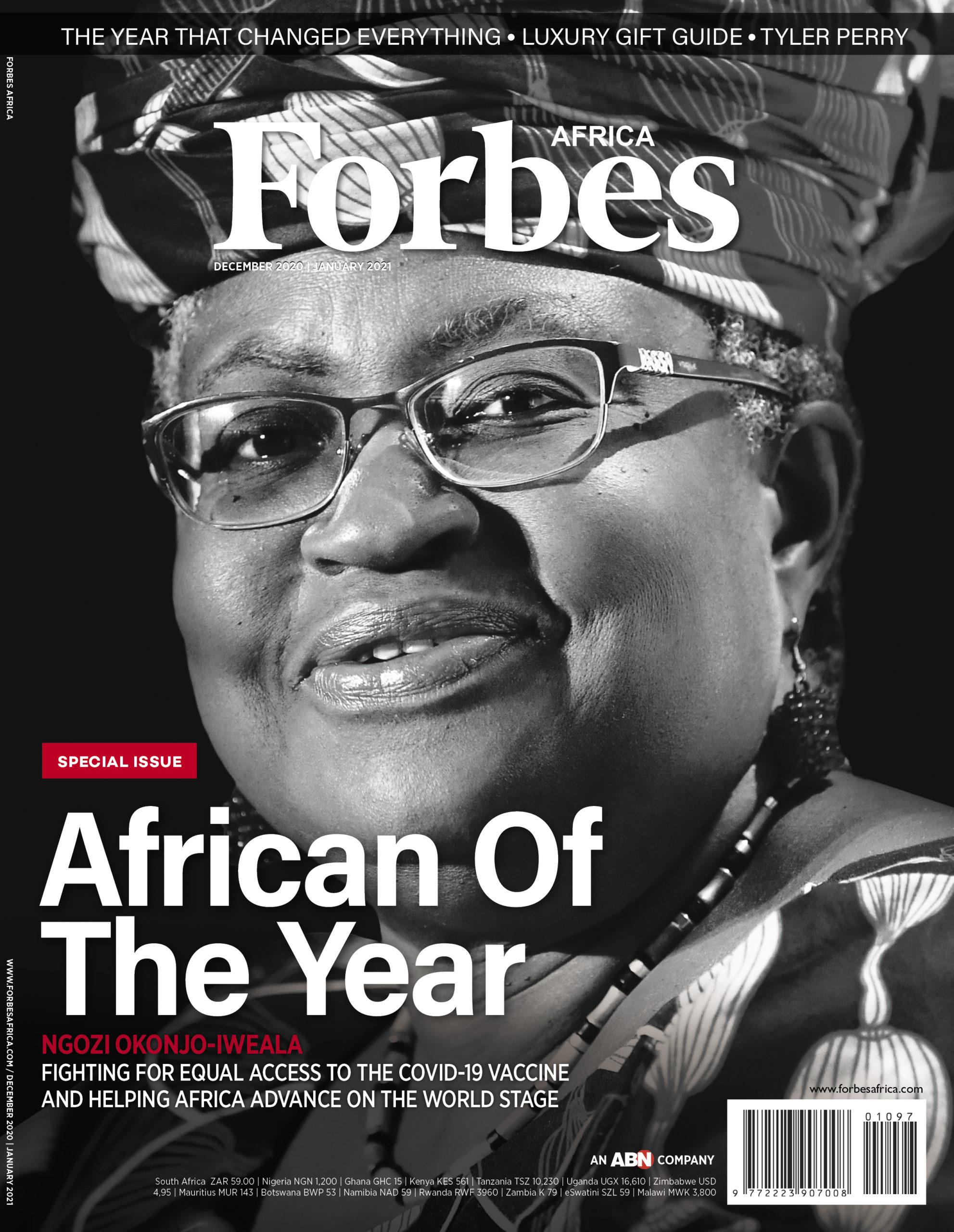 Nigerian Dr Okonjo-Iweala is Forbes African of The Year