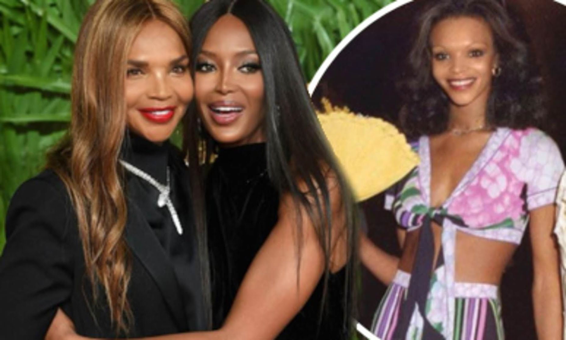 Naomi Campbell 50 and Her Mom Valerie Morris 69, Are Basically Twins