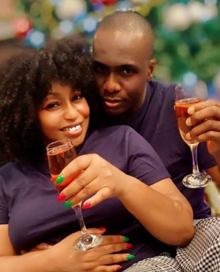 Nigerian actress, Rita Dominic has finally unveiled her lover to mark Christmas.
