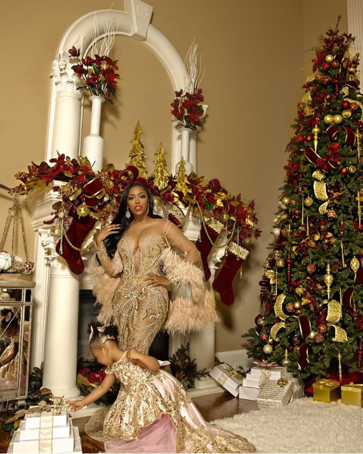 Real Housewives of Atlanta's Porsha Williams is celebrating Christmas in style this year.