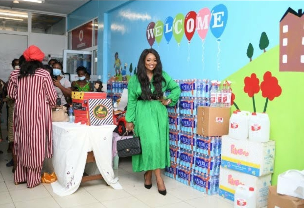 Jackie Appiah Gifts New Daycare Centre To Korle-Bu Children Health Centre