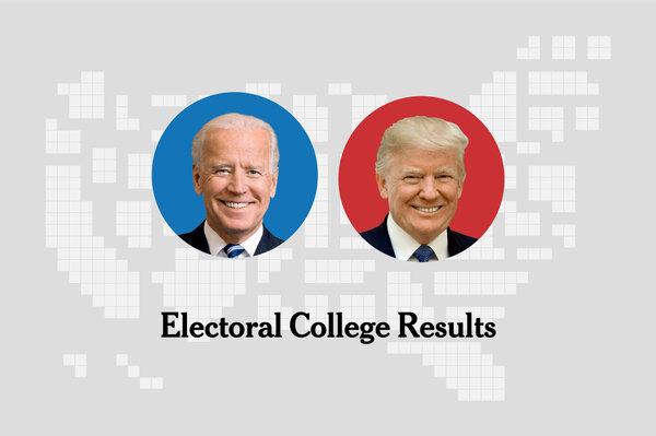 Electoral College Affirms Biden Victory