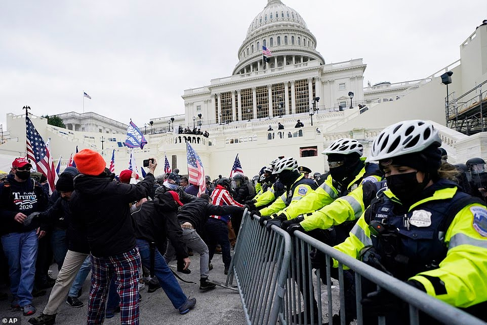 Trump supporters stormed US Capitol building