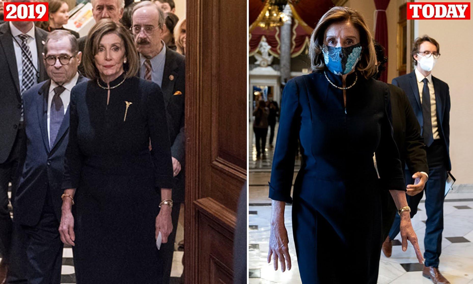Nancy Polesi and her little black impeachment dress'