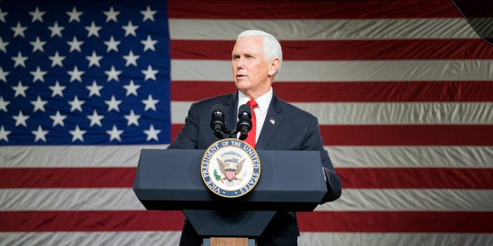 Mike Pence rejects Trump