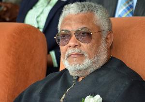 body of former President Jerry John Rawlings