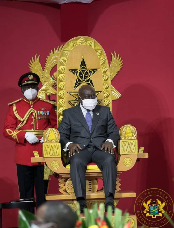 Ghana:72 year old Nana Akufo-Addo is sworn in as president