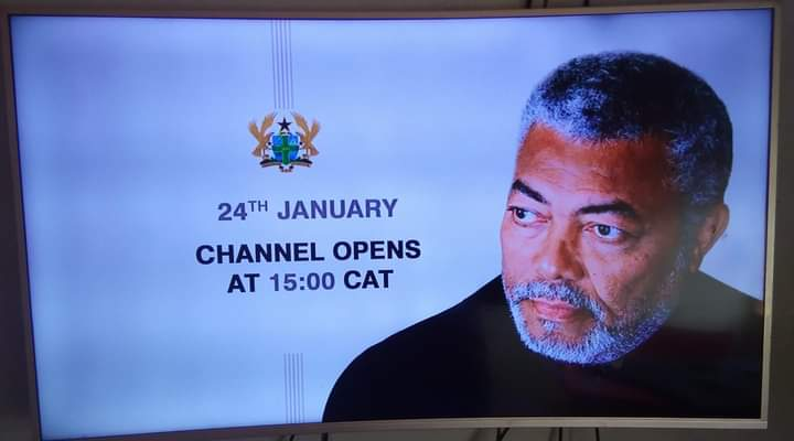 Four day funeral for Jerry John Rawlings.
