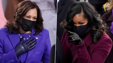 FIRST BLACK FIRST LADY AND FIRST BLACK/FEMALE VICE PRESIDENT.