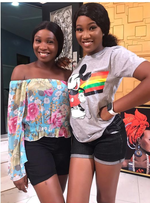 Meet Proud Nollywood Sisters chinenye Nnebe And Sonia Uche.