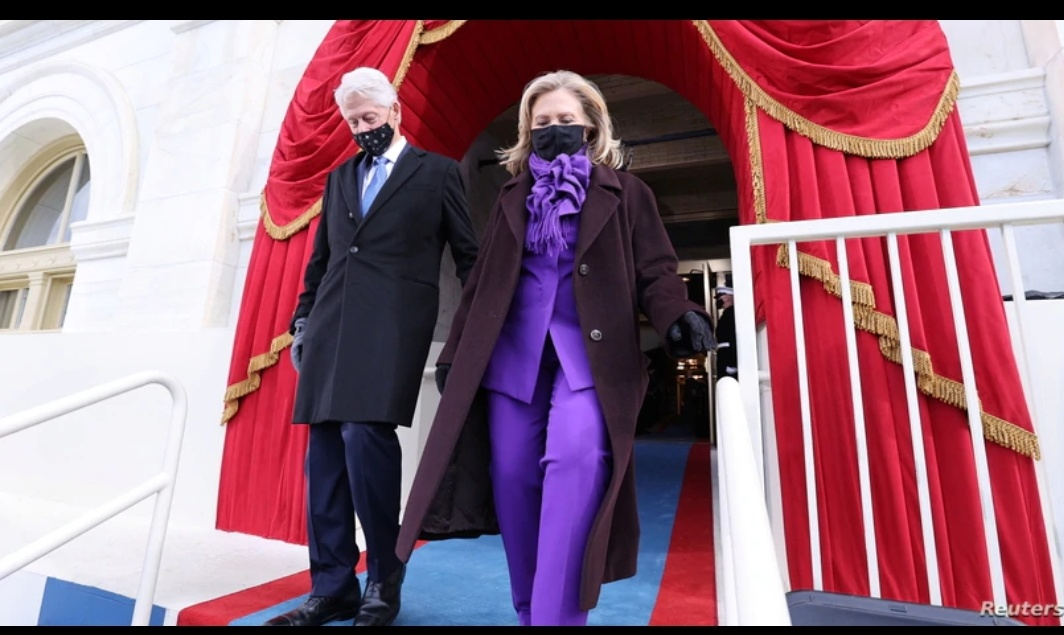 Former Presidents Arrive at the Capitol for Joe Biden's inauguration
