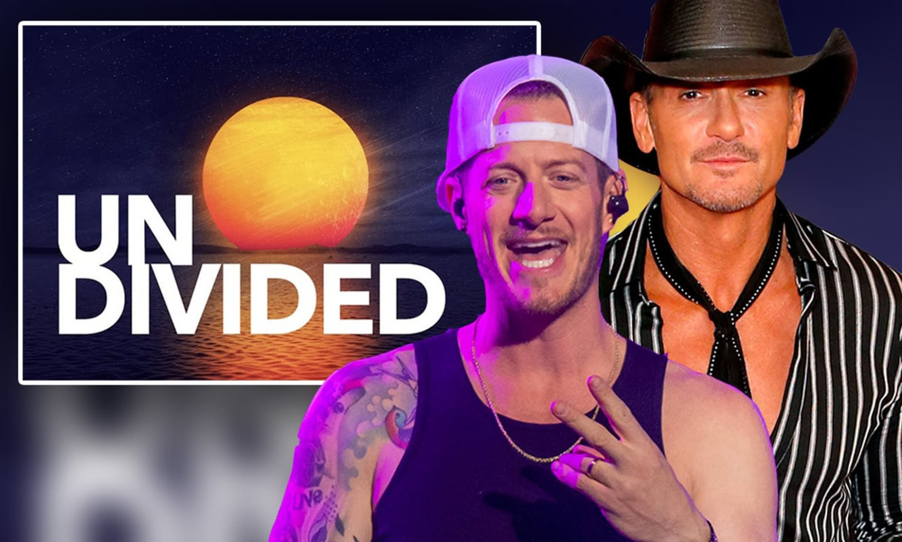 Country music icons Tim McGraw and Tyler Hubbard