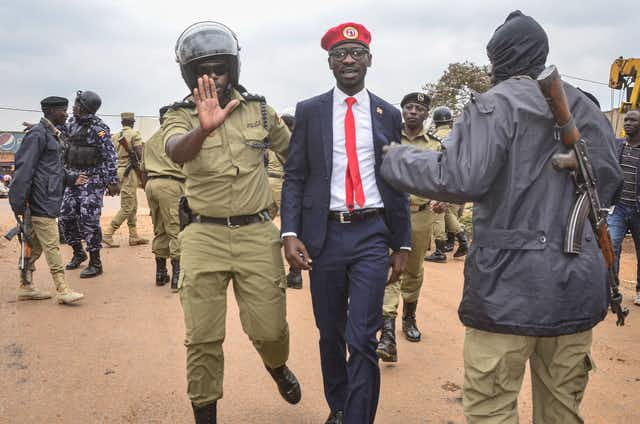 Ugandan security forces withdraw from Bobi Wine's house