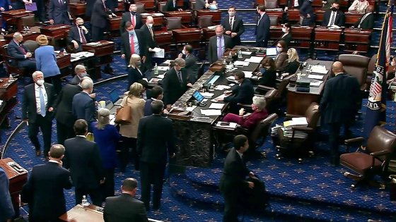 U.S. Senate Passes Budget Resolution; Vice President Harris Breaks Tie