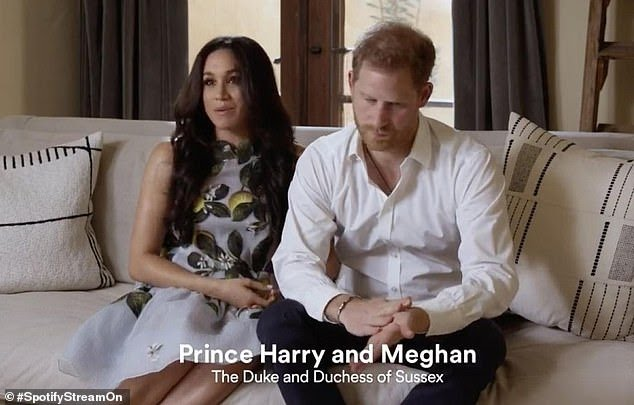 Prince Harry and Meghan Markle are seen for the first time