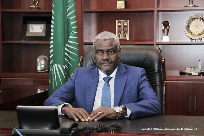 Moussa Faki Mahamat re-elected for a second 4-year term as the Chairperson of the African Union