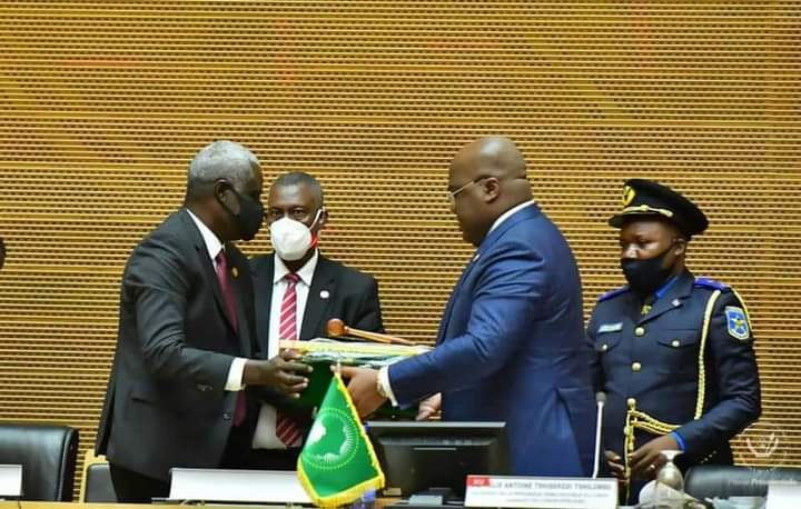 President Félix Tshisekedi of the DRC takes over as the AU's Chairperson