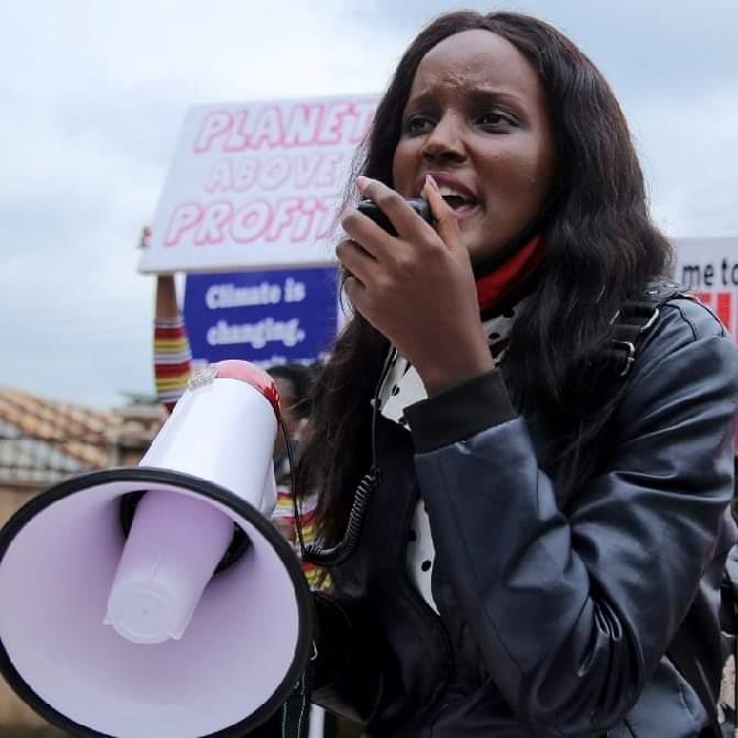 Vanessa Nakate from Uganda is my Profile of theweek