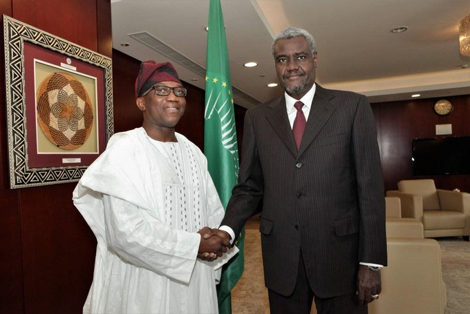 My Profile of the week is Nigerian Ambassador Bankole A. Adeoye, African Union Commissioner