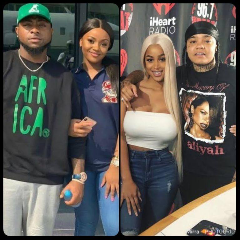 Nigerian Singer Davido Spotted With Mya Yafai Ex girlfriend
