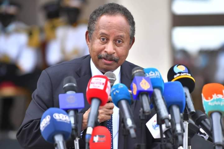 My Profile Of The Week Is The Prime Minister Of Sudan Dr.Abdalla Hamdok.