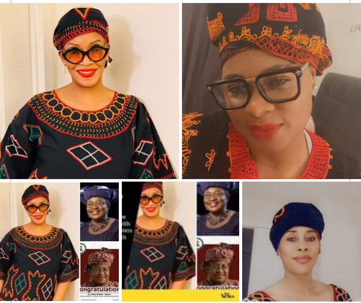 US-based Cameroonian Woman, Maybelle Boma Launches #ToghuArmy to Honour WTO New Boss