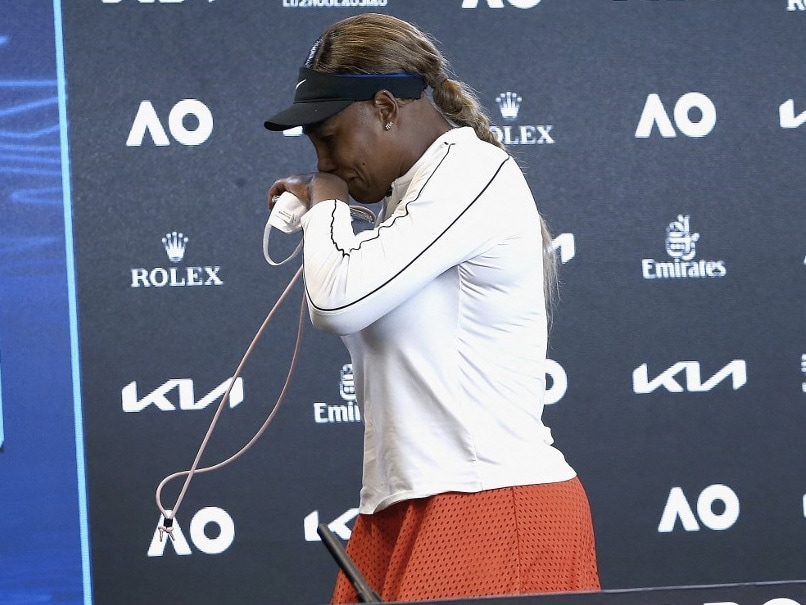 'I'm Done': Williams Walks Out In Tears After Semi-Final