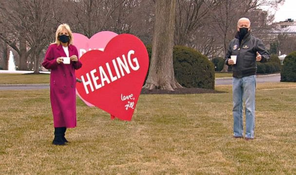 FIRST LADY DR. JILL BIDEN VALENTINE'S DAY MESSAGE TO AMERICA